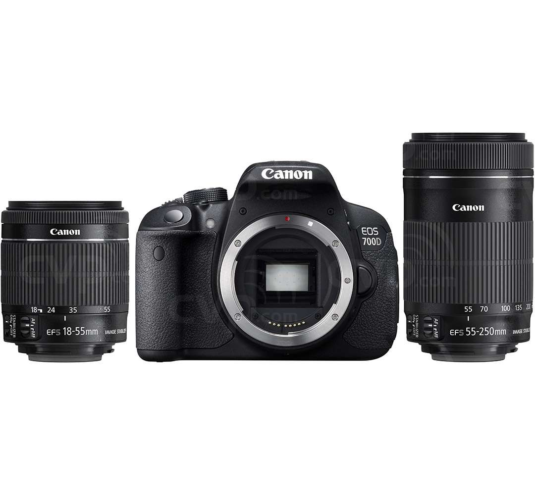 Canon Eos 700d 18 0mp Full Hd Movie Digital Slr Camera