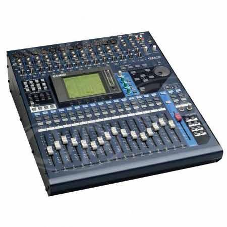 yamaha 01v96v2 24 bit 96khz 16 channel digital audio mixer. Black Bedroom Furniture Sets. Home Design Ideas
