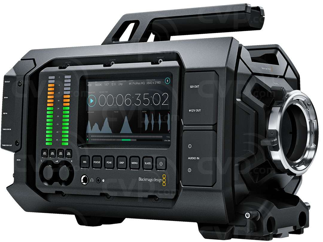 Blackmagic Ursa Pl Mount 4k Camera With A Super 35 Sensor