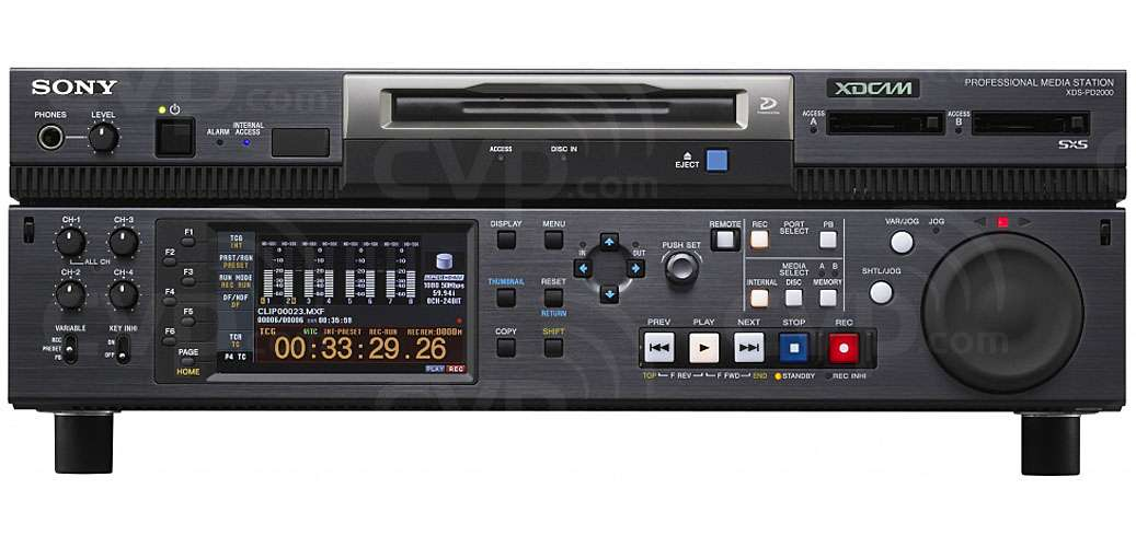 Buy Sony Xds Pd2000 Xdspd2000 Xdcam Deck It Server