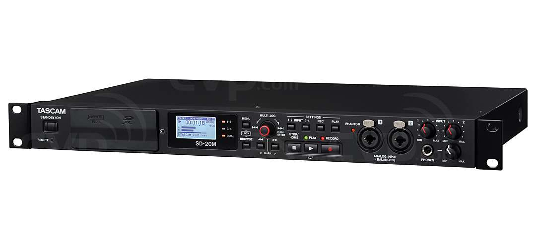 Buy Tascam Sd 20m Sdm20 Solid State Sd Card Recorder