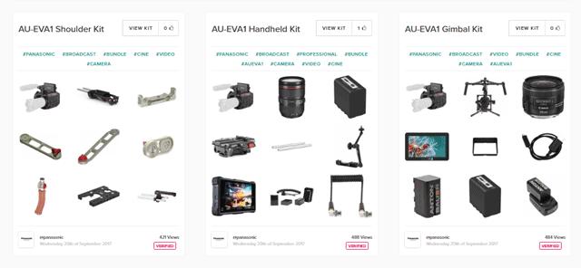 EVA1 Kits