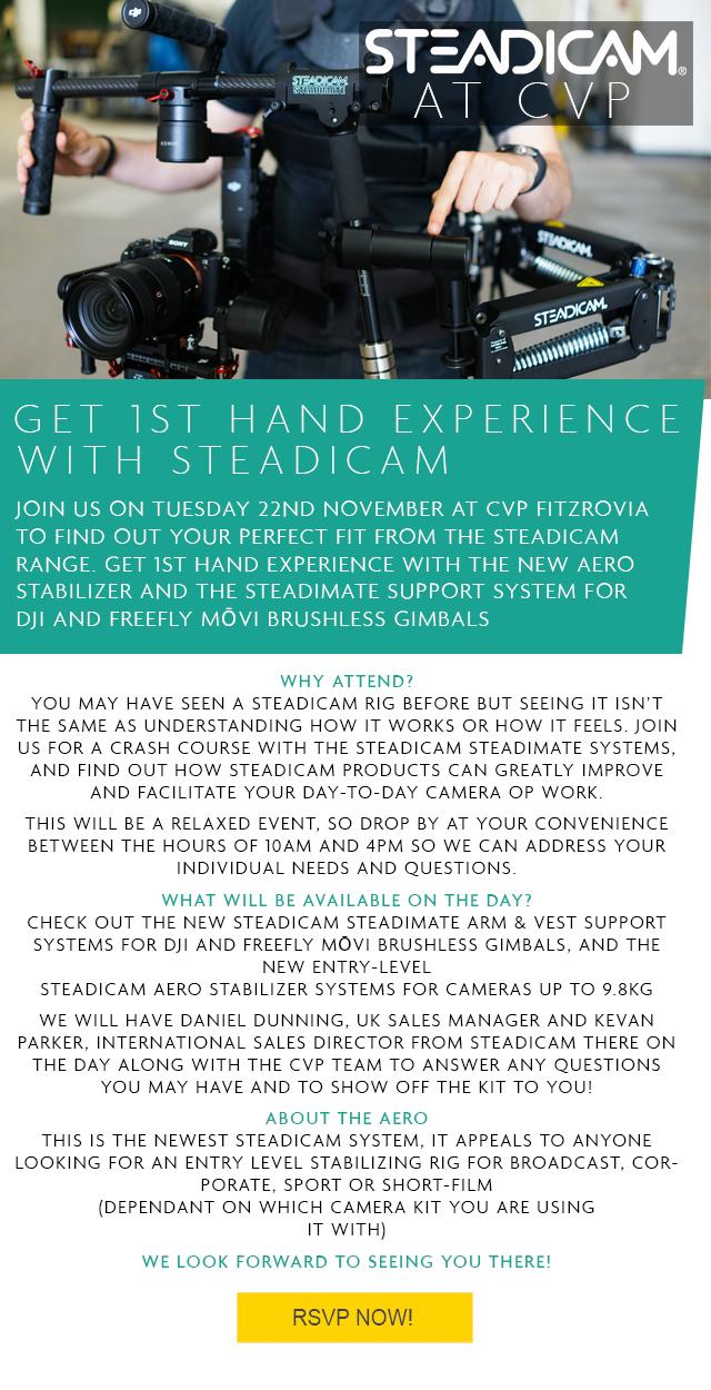 Steadicam event