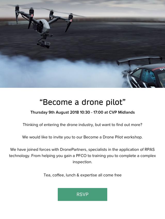 Become a drone pilot