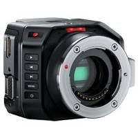 Blackmagic Micro Full HD 1080p Cinema Camera with an Active MFT Lens Mount - Body Only (p/n BMD-CINECAMMICHDMFT)
