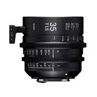 Sigma 35mm T1.5 FF High Speed Prime Cine Lens - PL Mount - Available in Feet and Metre Scale (340968 / 34M968)