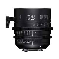 Sigma 50mm T1.5 FF High Speed Prime Cine Lens - PL Mount - Available in Feet or Metre Scale (311968 / 31M968)