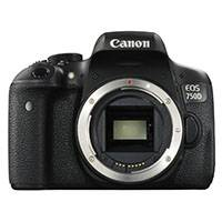 Canon EOS 750D 24.2 Megapixel APS-C Digital SLR Camera Body Only (Canon p/n 0592C014AA)