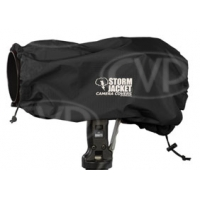Color Vortex Media Storm Jacket Cover for an SLR Camera with a Short Lens Measuring up to 9 from Rear of Body to Front of Lens Black