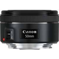 Canon 50mm f/1.8 STM, EF Mount Lens featuring a 7-blade Circular Aperture, STM Focusing Motor and Improved Optical Design (p/n 0570C005AA)