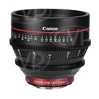 Canon CN-E 50mm T1.3 L - EF Mount Digital Cine Prime Lens CN-E50 (p/n 6570B001AC)