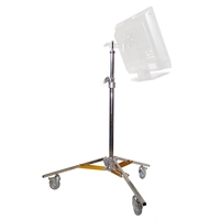 Matthews H386025 (H-386025) Hollywood Baby Jr. Double Riser Lighting Stand