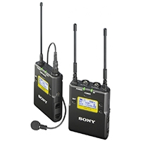 Sony UWP-D11/K33 (Radio Channel 33) Wireless Digital Audio Processing Microphone, Transmitter and Receiver Package