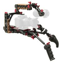 Zacuto Z-CINR-V2 (ZCINRV2) Indie Recoil Support Rig for DSLRs or any Flat Bottomed Camera