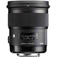 Sigma (311954) 50mm f/1.4 DG HSM A Series Art Lens for Canon EOS cameras (EF)