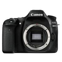 Canon EOS 80D 24.2 Megapixel APS-C Digital SLR Camera Body Only (p/n 1263C036AA)