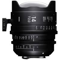 Sigma 14mm T2 FF High Speed Prime Cine Lens PL Mount - Available in Feet or Metre Scale (450968 / 45M968)