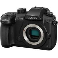 Panasonic Lumix DC-GH5 20.3MP Digital Single Mirrorless Compact System Camera Body Only (DC-GH5EB-K, Panasonic GH5)
