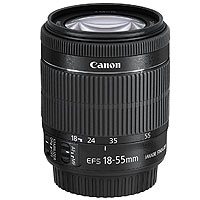 Canon EF-S 18-55mm f/3.5-5.6 IS STM Lens (p/n 8114B005AA)