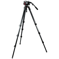 Manfrotto 504HD,536K (504HD536K) Midi CF System Tripod System includes 504HD Head and 535K Tripod