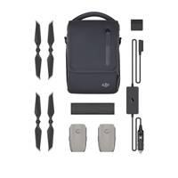 DJI Mavic 2 Part 1 Fly More Kit with Flight Batteries, Car Charger, Charging Hub, Power Bank Adapter, Propellers and Bag