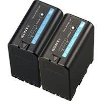 Sony 2BP-U60 (2BPU60) 2x High Capacity 14.4v / 56Wh / 3.8Ah Li-Ion Battery Packs
