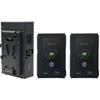 CoreSWX CN98S-K1 (CN98SK1) CoreNano98 Battery Bundle with 2x CORE-N98S and 1x GP-X2 Charger - V-Mount