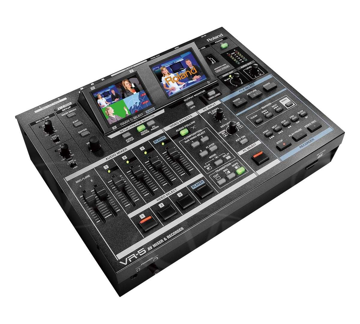 Roland VR-5 (VR5) AV Mixer and Recorder