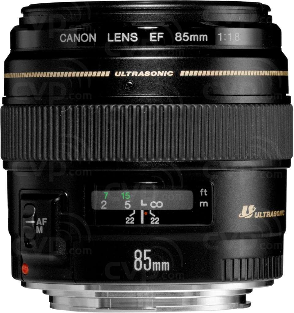 Buy - Canon EF 85mm f/1.8 USM Medium Telephoto Lens (p/n 2519A012AA)