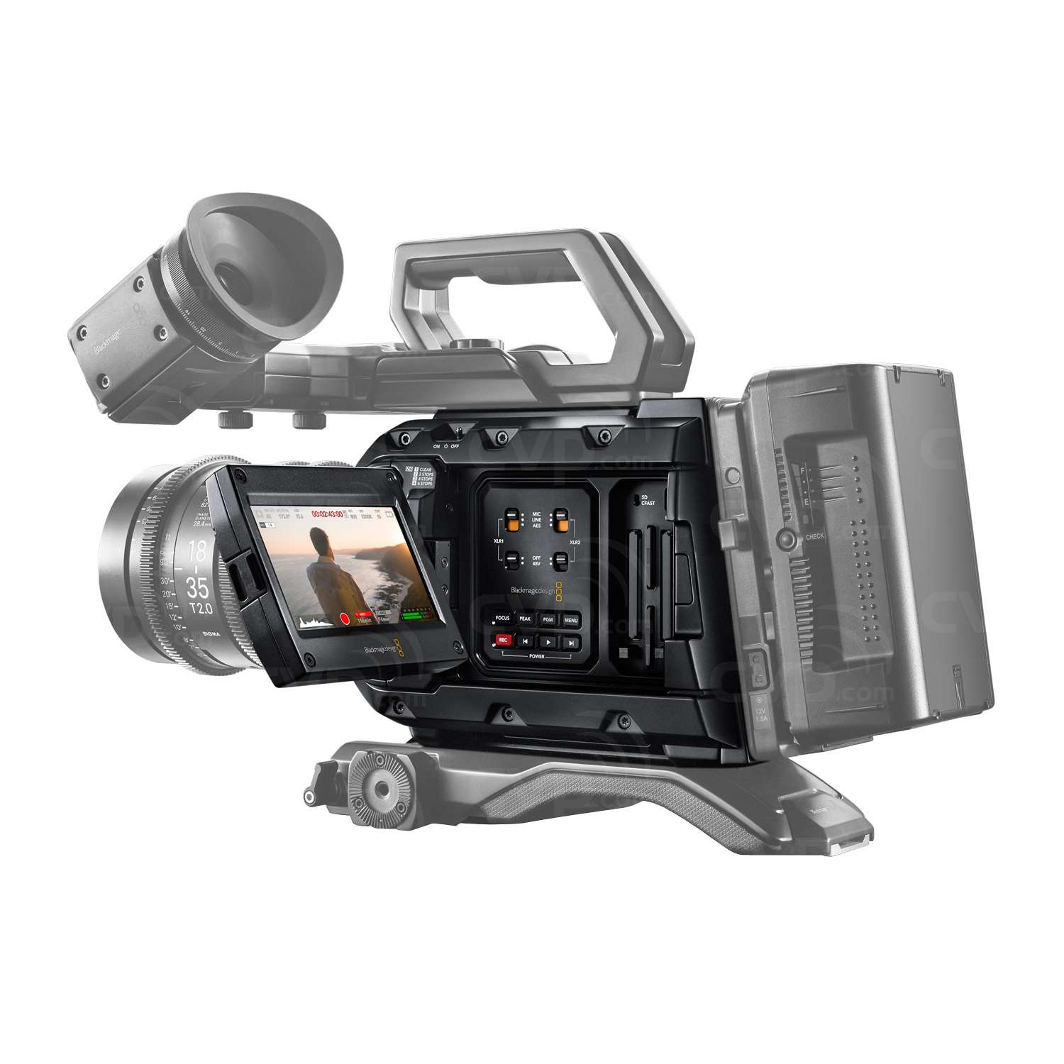 Blackmagic Ursa Mini Pro - EF