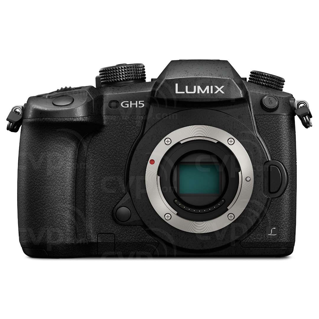 Panasonic Lumix DC-GH5 20.3MP Digital Single Mirrorless Compact System Camera Body Only (DC-GH5EB-K)