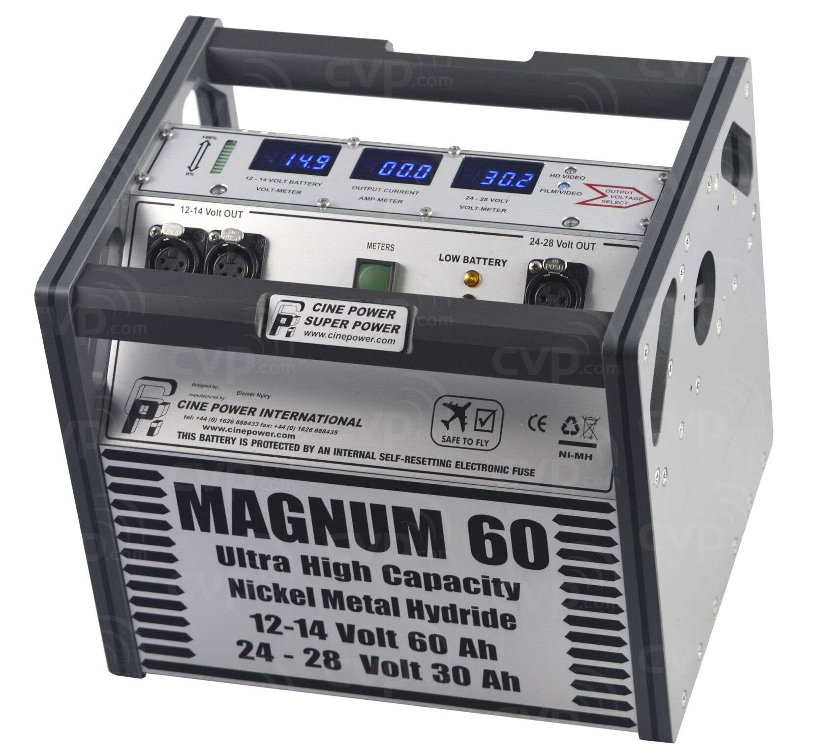 Buy - Cine Power Magnum 60 Ultra High Capacity NiMH Battery Pack (p/n CPI  MG60)
