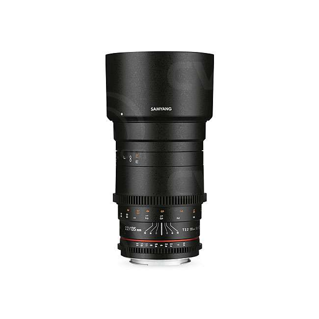 Buy - Samyang 135mm T2.2 VDSLR ED UMC Lens - Sony E Mount (7453)