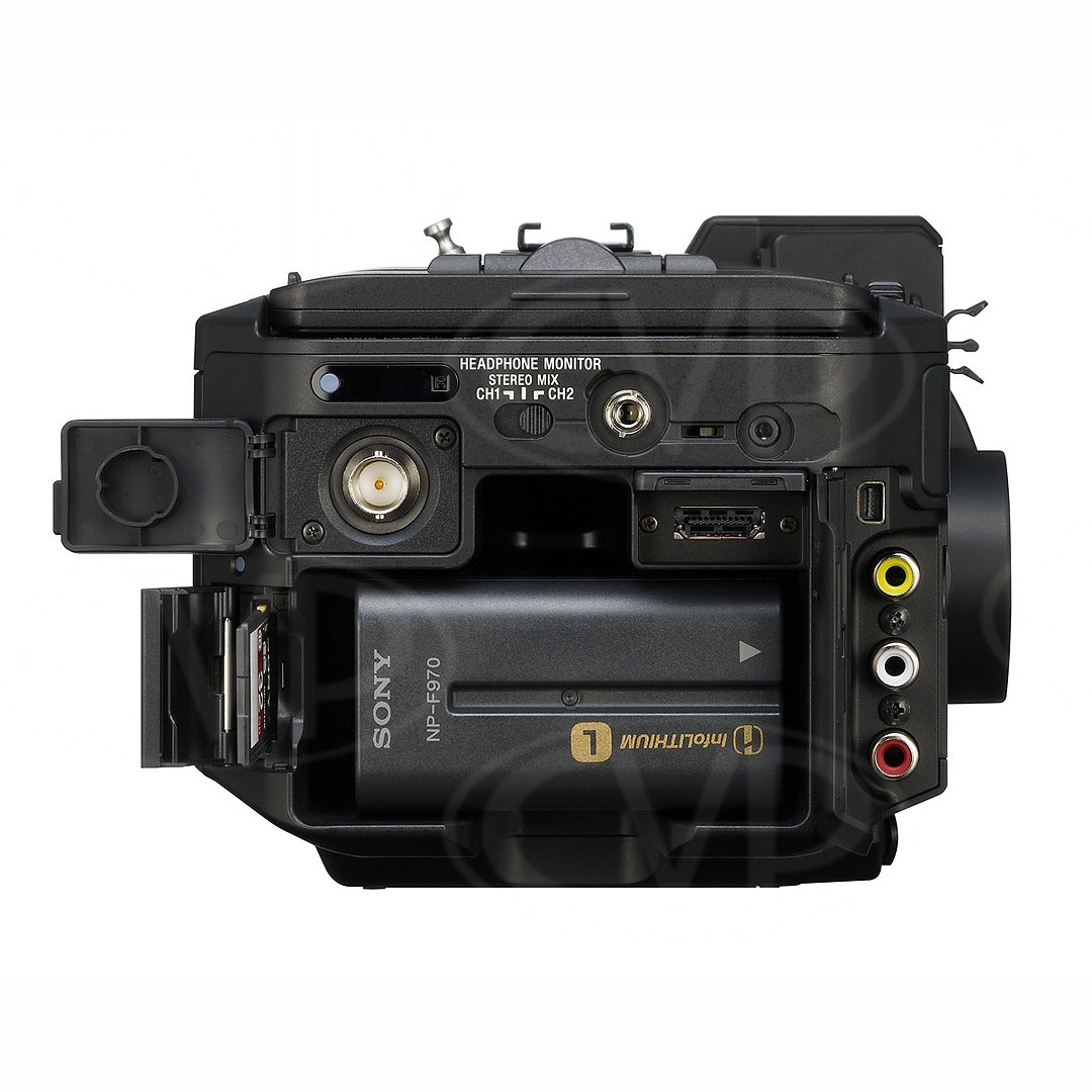 Sony NEX-FS700E (NEXFS700E) rear view