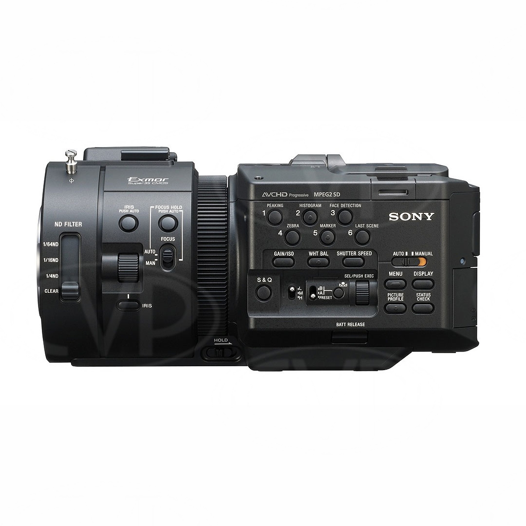Sony NEX-FS700E (NEXFS700E) side view