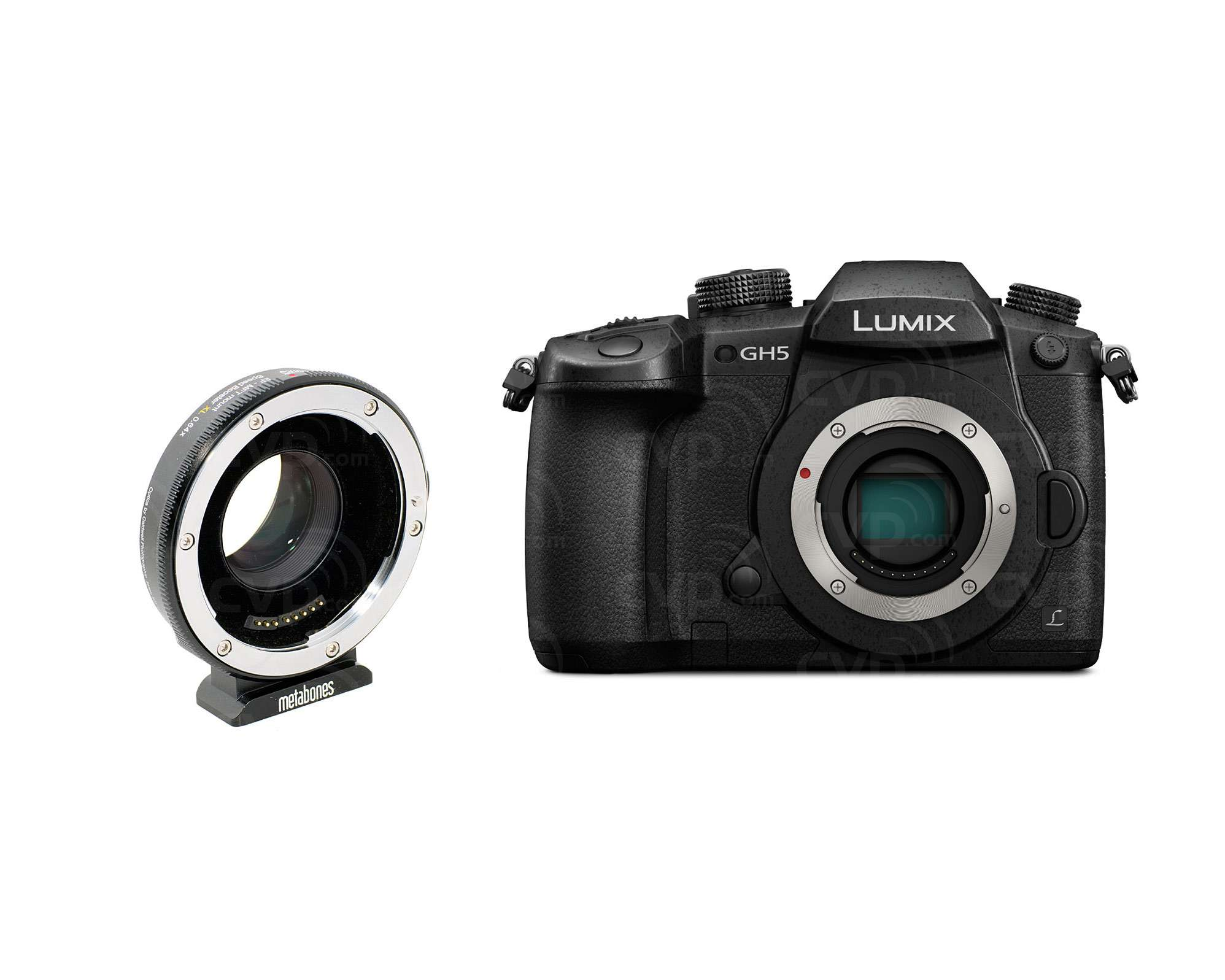 GH5 Body and EF to MFT 0 64x Bundle