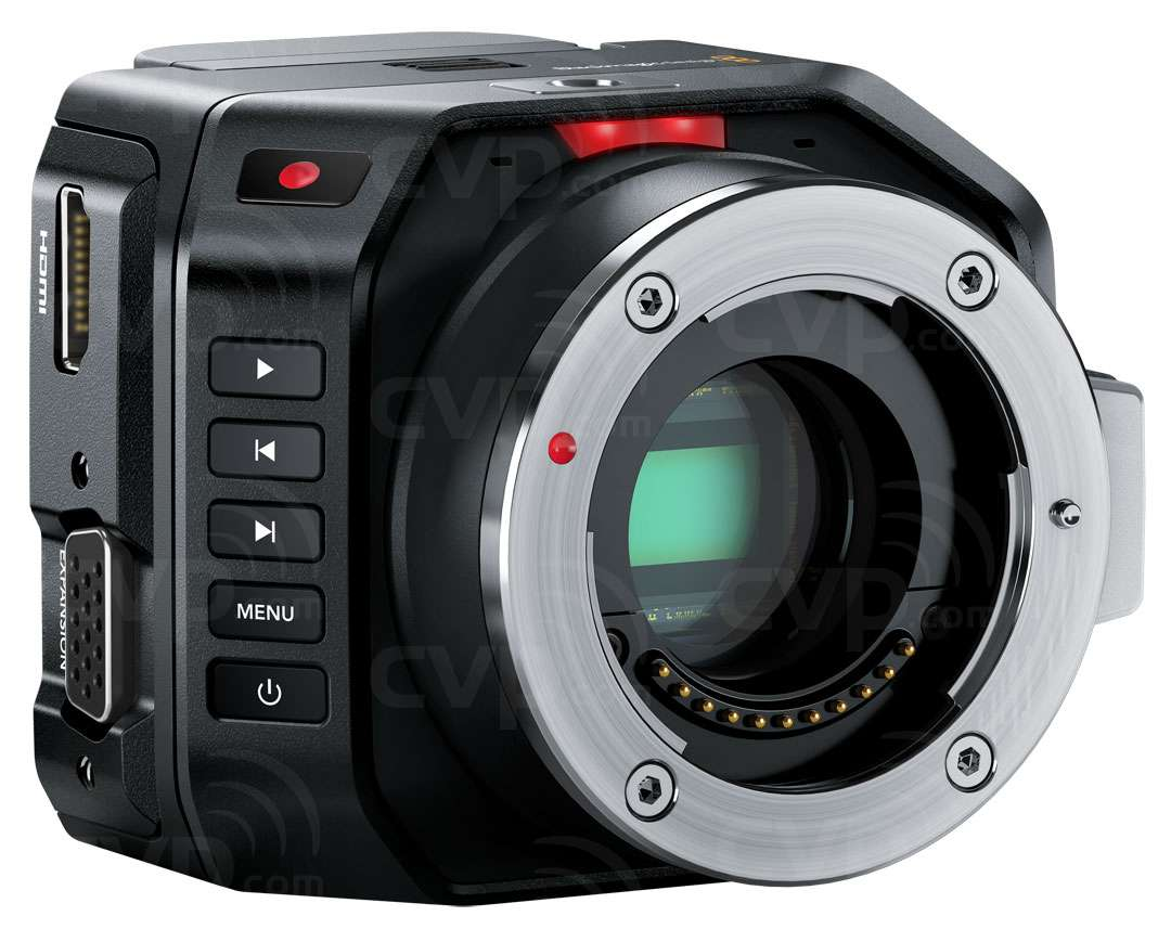 Buy Blackmagic Micro Full Hd 1080p Cinema Camera With An Active Mft Lens Mount Body Only P N Bmd Cinecammichdmft