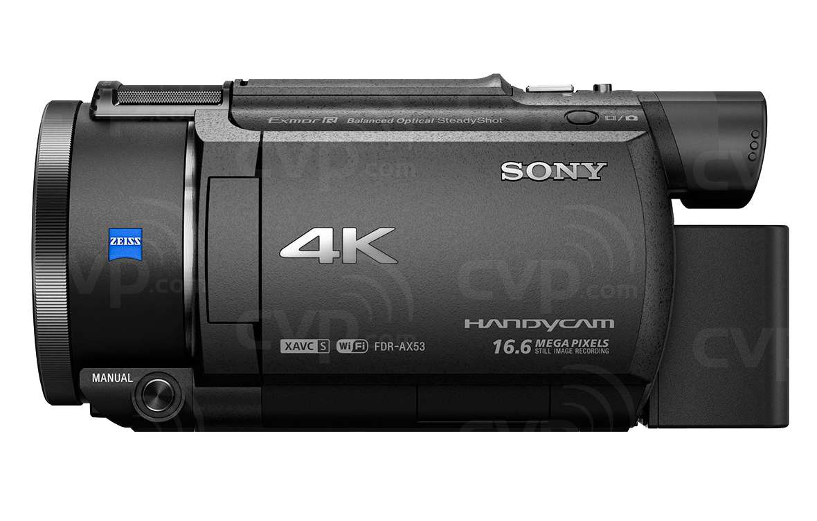sony handycam fdr-ax53 review