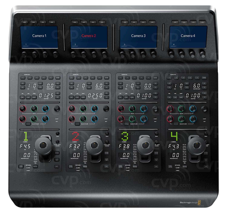 Buy Blackmagic Design Atem Camera Control Panel P N Bmd Swpanelccu4