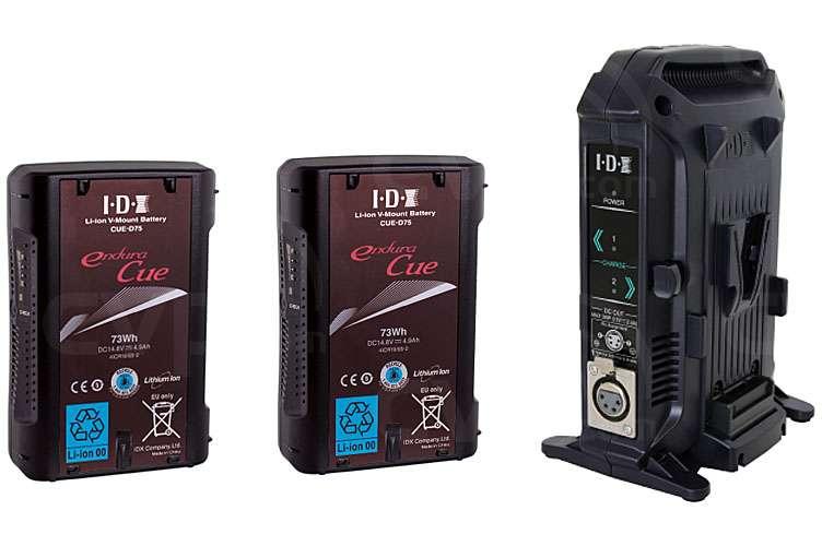 IDX 2x CUE-D75 and 1x VL-2X