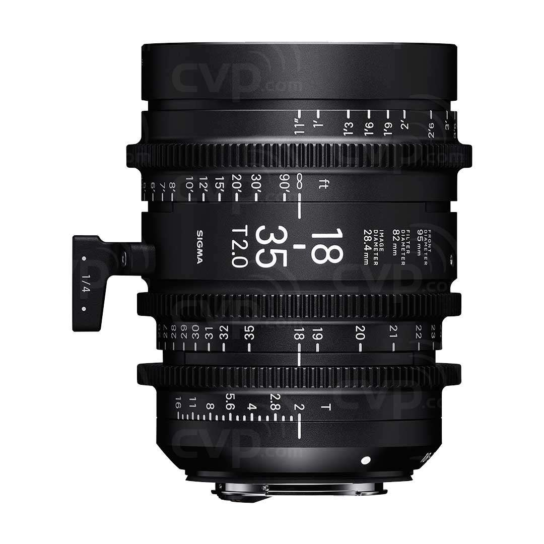 Buy - Sigma 18-35mm T2 High Speed Zoom Cine Lens - E Mount ...