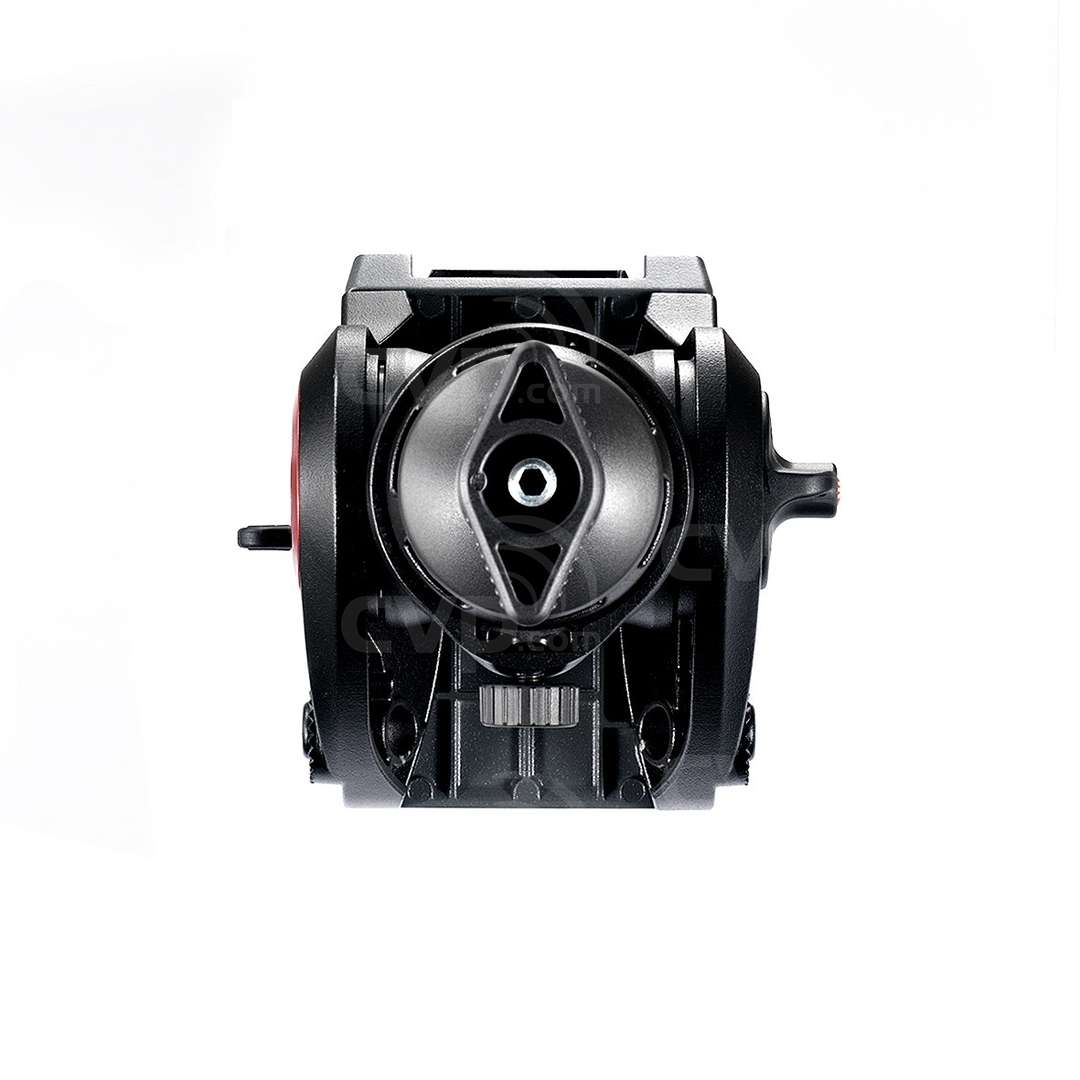 Manfrotto MVH500A (MVH500A) Lightweight Fluid Video Head - 60mm Half Ball (5KG Payload) - Underside