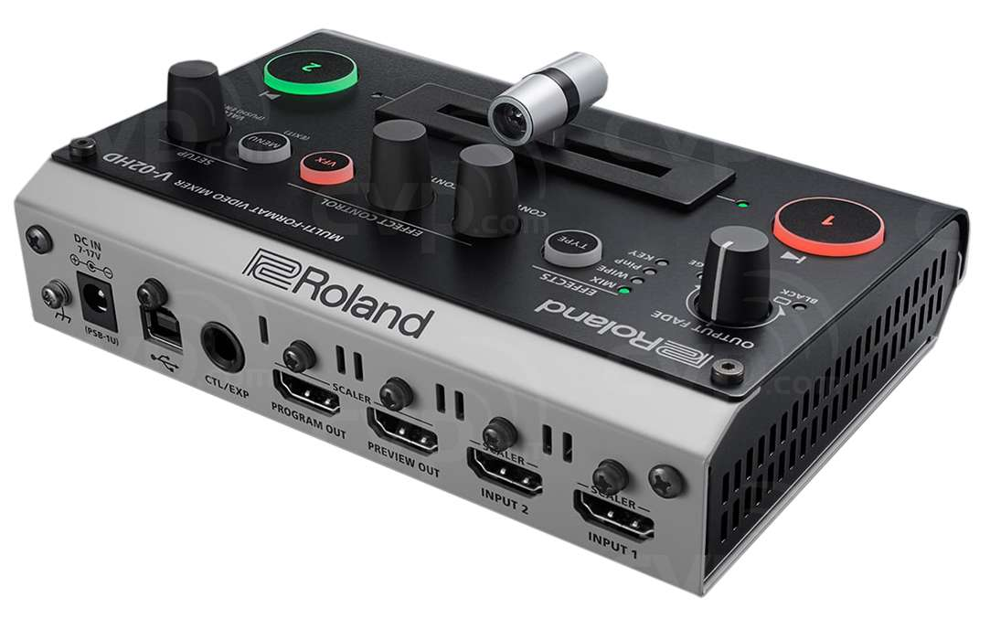 buy roland v 02hd v02hd multi format video mixer with hdmi output and audio input. Black Bedroom Furniture Sets. Home Design Ideas