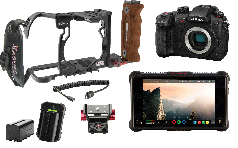 Panasonic GH5S Ninja Inferno & Zacuto Cage Kit
