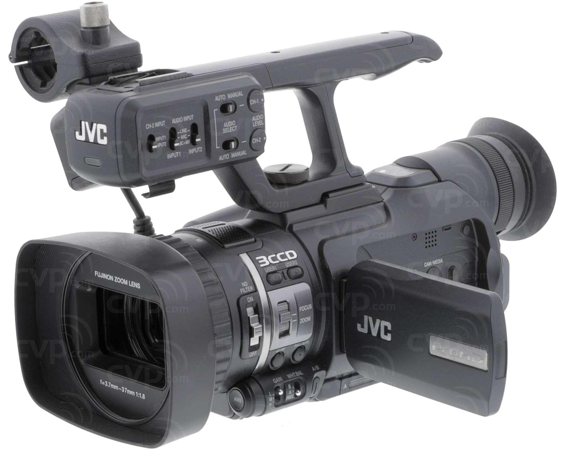 buy pre owned jvc gy hm100e gyhm100e gy hm100 prohd solid state rh cvp com jvc gy hm100u manual pdf jvc gy-hm100u prohd camcorder manual
