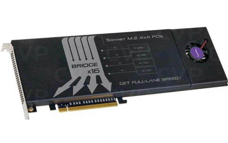 Sonnet M 2 4X4 PCIE Card
