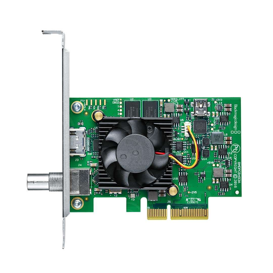 Buy Blackmagic Design Decklink Mini Monitor 4k Pcle Card With Ultra Hd And Hdr Support P N Bmd Bdlkminimon4k
