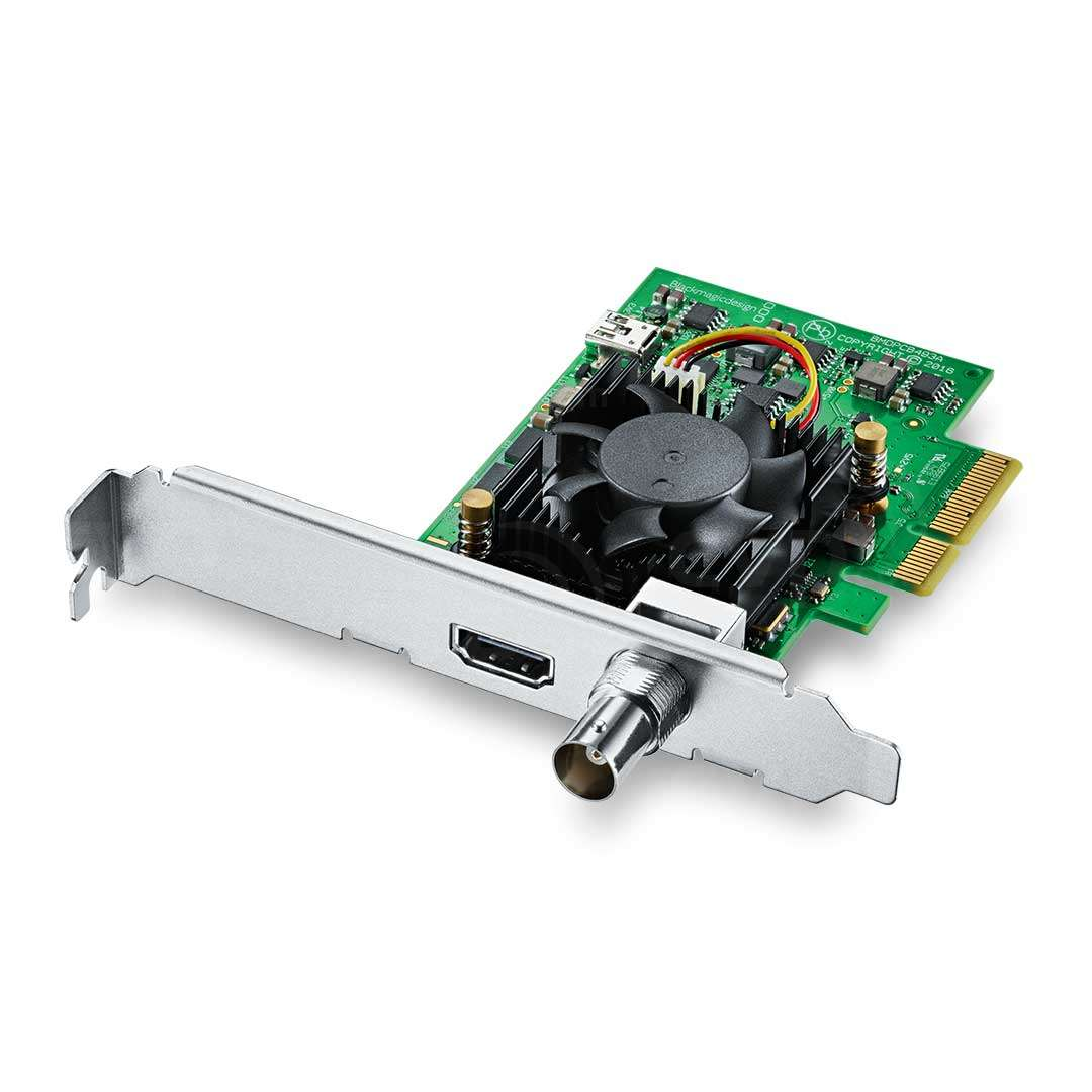 Buy Blackmagic Design Decklink Mini Recorder 4k Pcie Card With Ultra Hd And Hdr Support P N Bmd Bdlkminirec4k