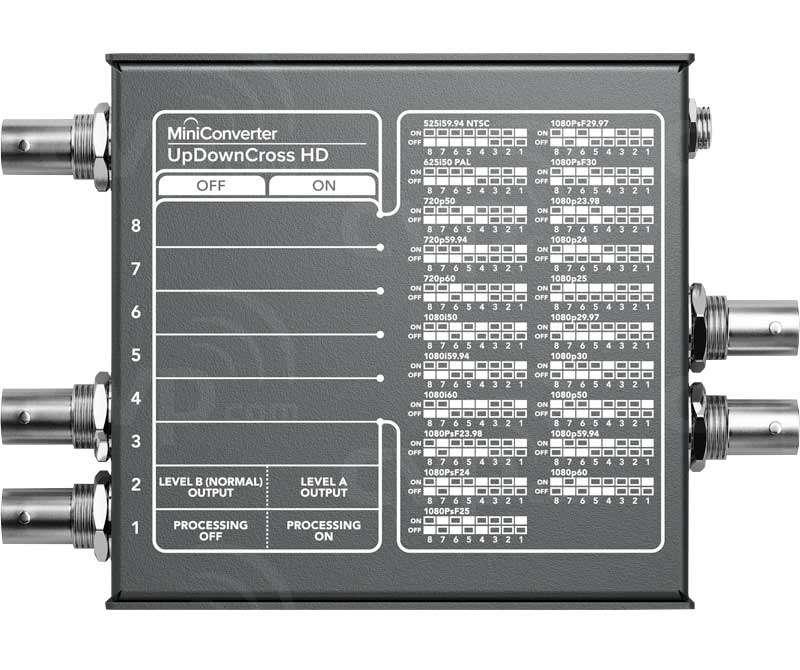 Buy Blackmagic Design Mini Converter Up Down Cross Hd Sdi Bmd Convmudcstd Hd