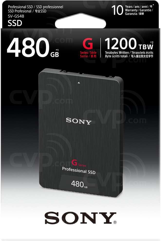Sony SV-GS48B 480GB SSD